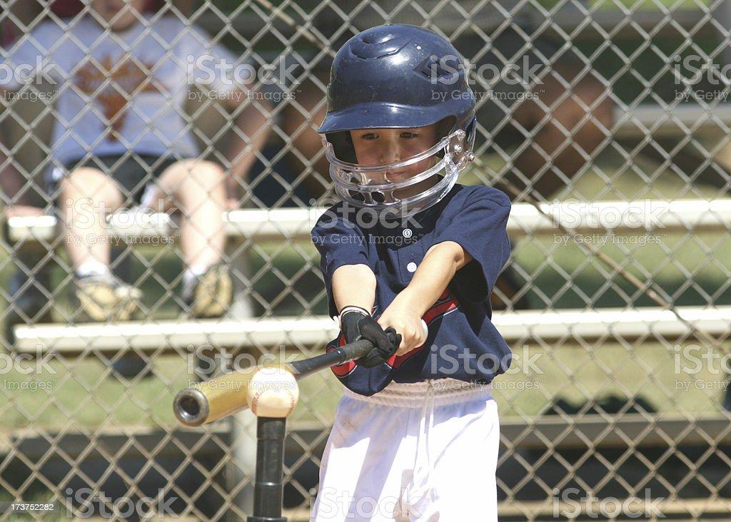 Tee Ball player stock photo