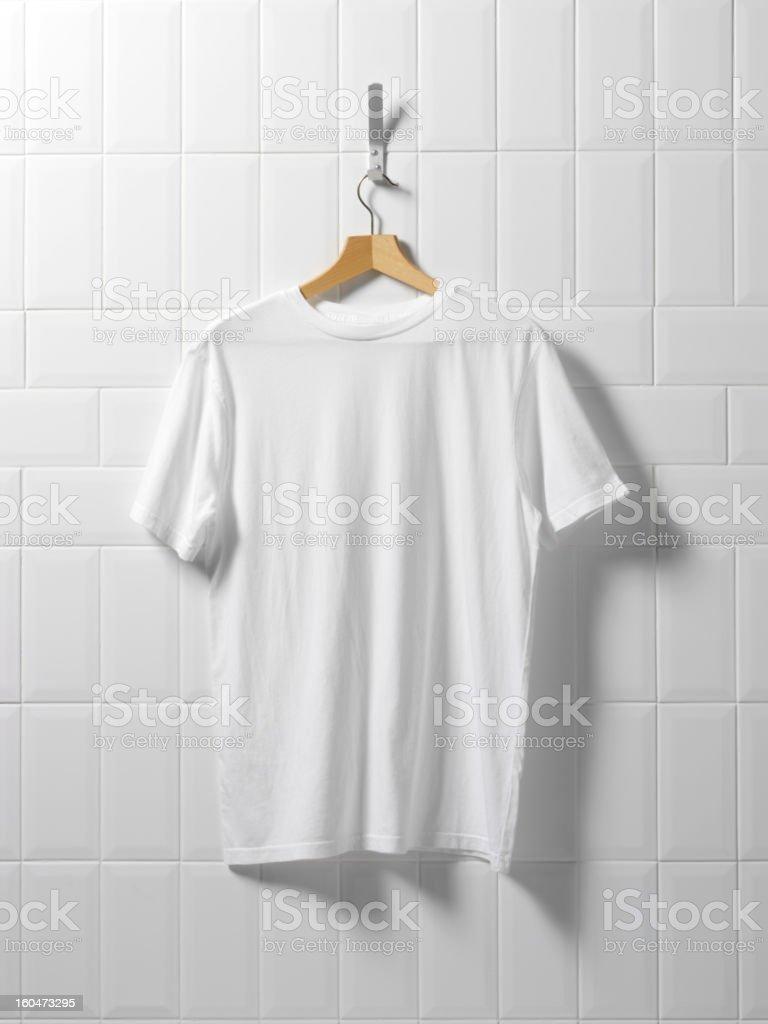 Tee Shirt Hanging Around royalty-free stock photo