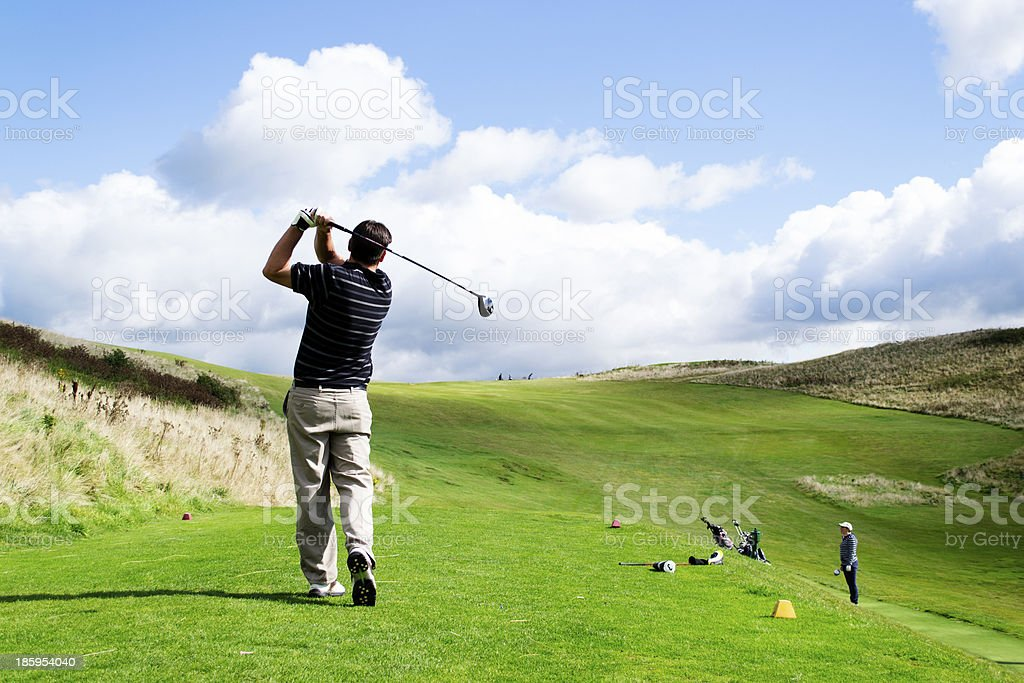 Tee time ? stock photo