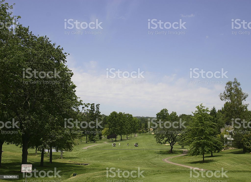 Tee Time! stock photo