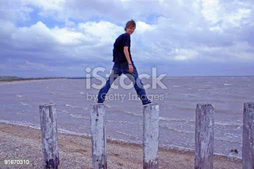 istock Teen at the Shoreline 91670310