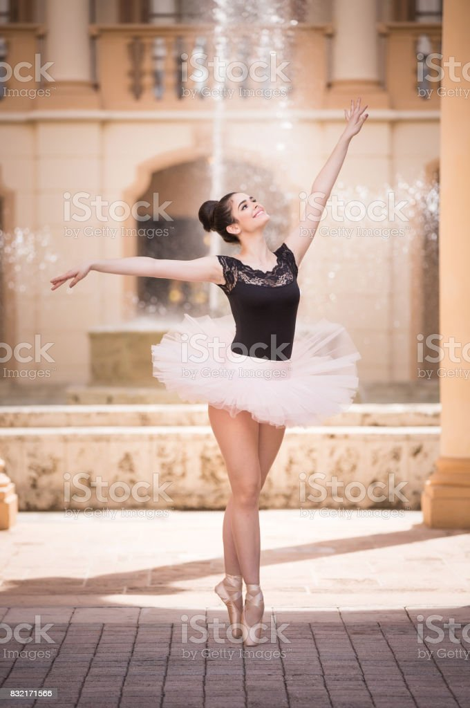 Teen Ballerina - foto stock