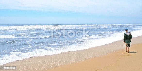 istock teen boy on beach 136881558