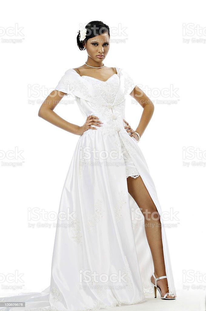 Teen Bride stock photo