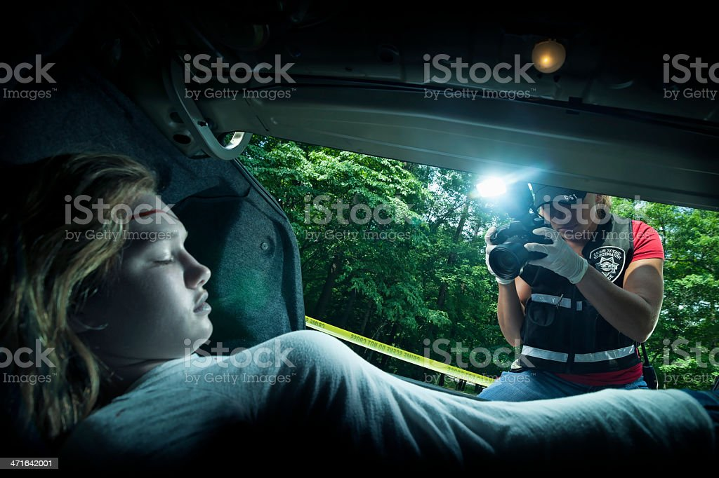 teen death stock photo
