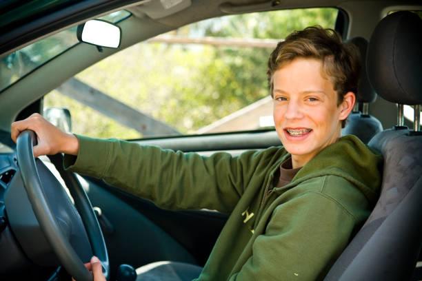 teen Fahrer – Foto