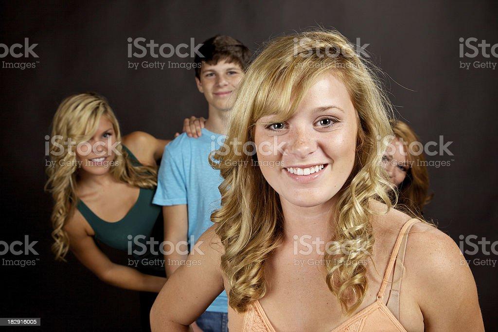 black teen females