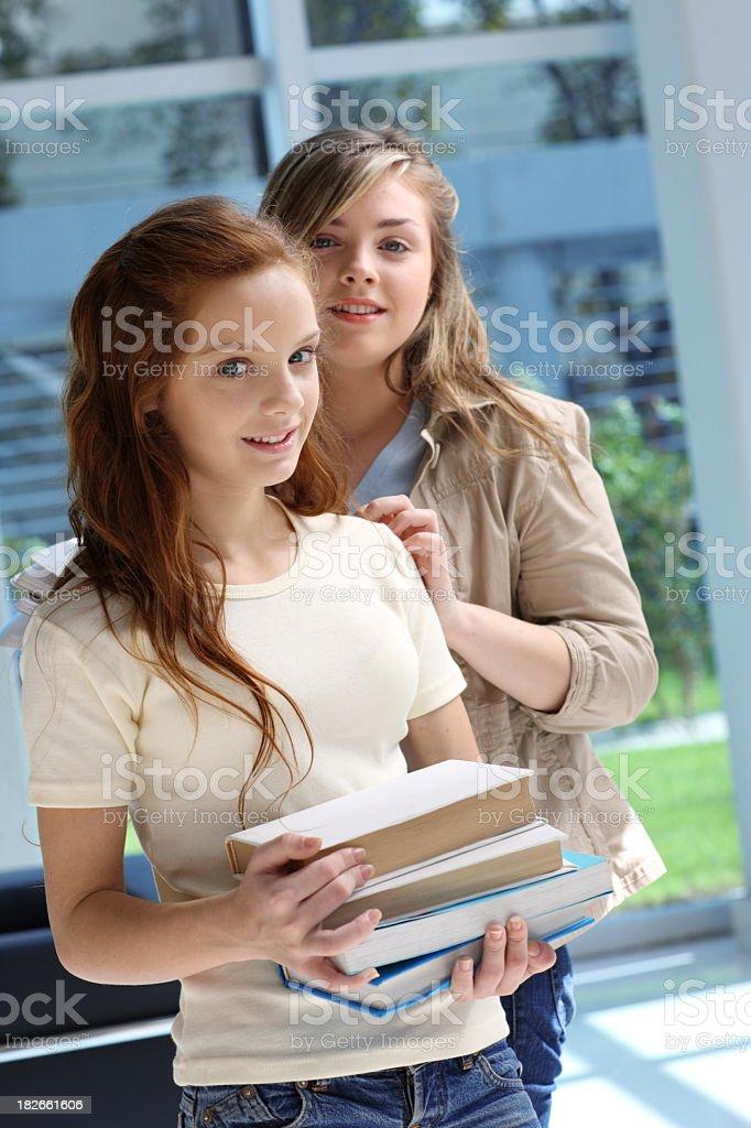 Teen friends royalty-free stock photo