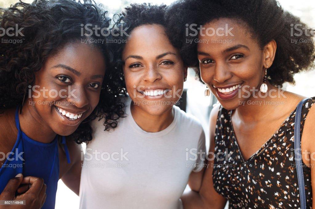 Teen friends stock photo