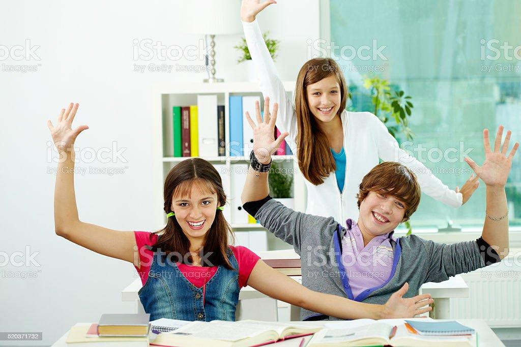 Teen Spaß Lizenzfreies stock-foto