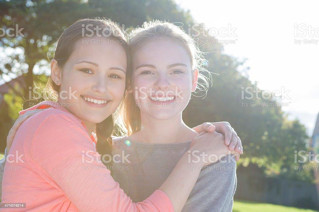 Teen Gay Couple - Stock image .