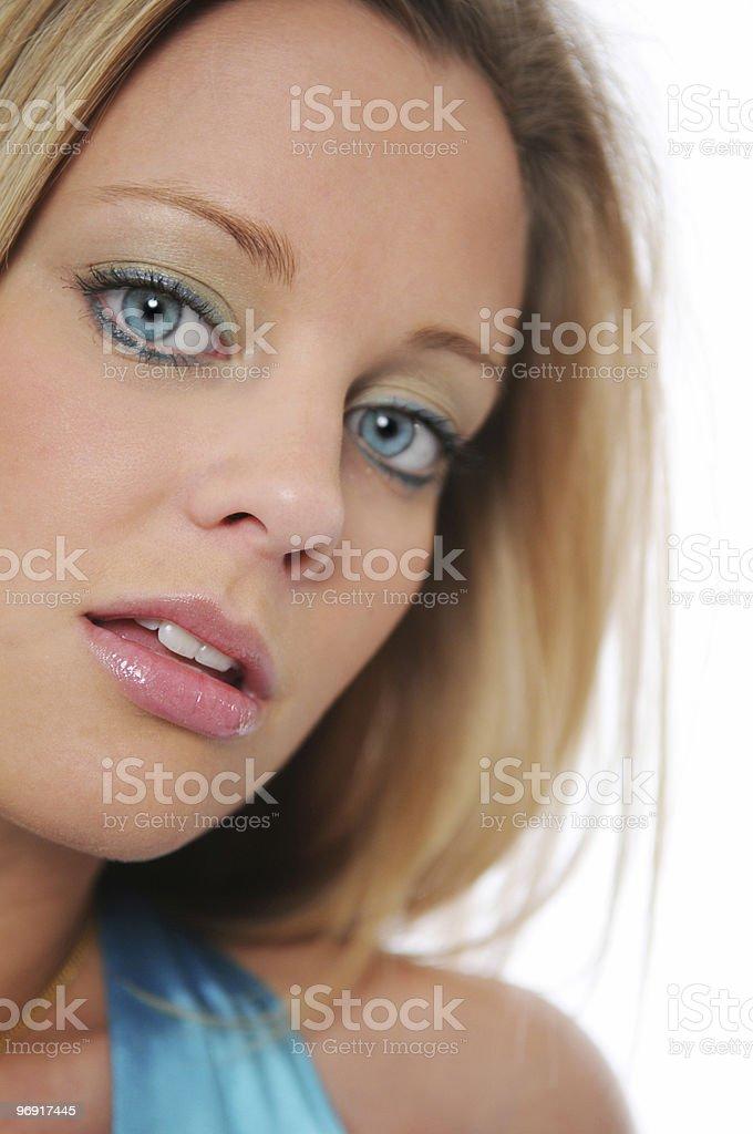 Teen girl close up royalty-free stock photo