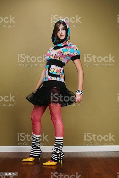 Mini-Rock Strümpfe Teen