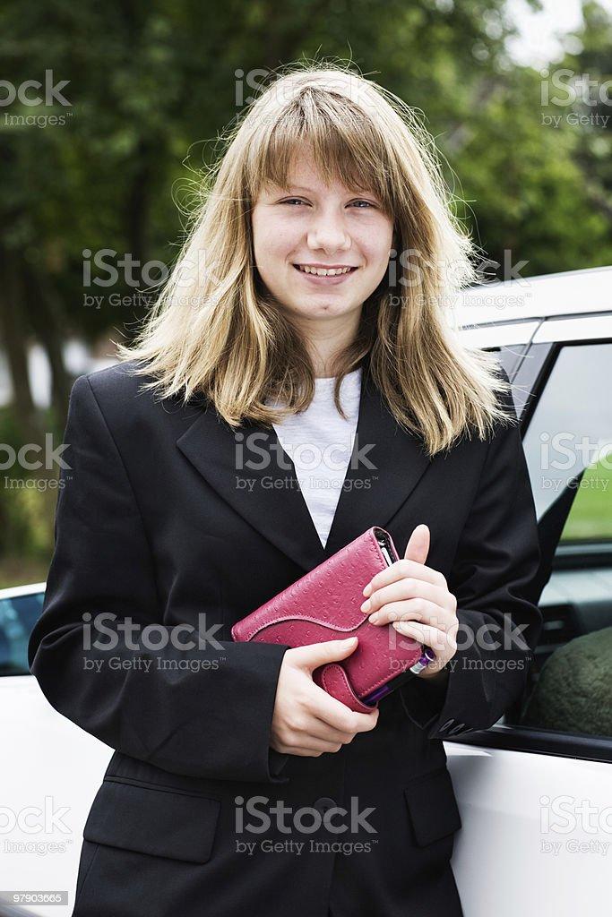 Teen girl royalty-free stock photo