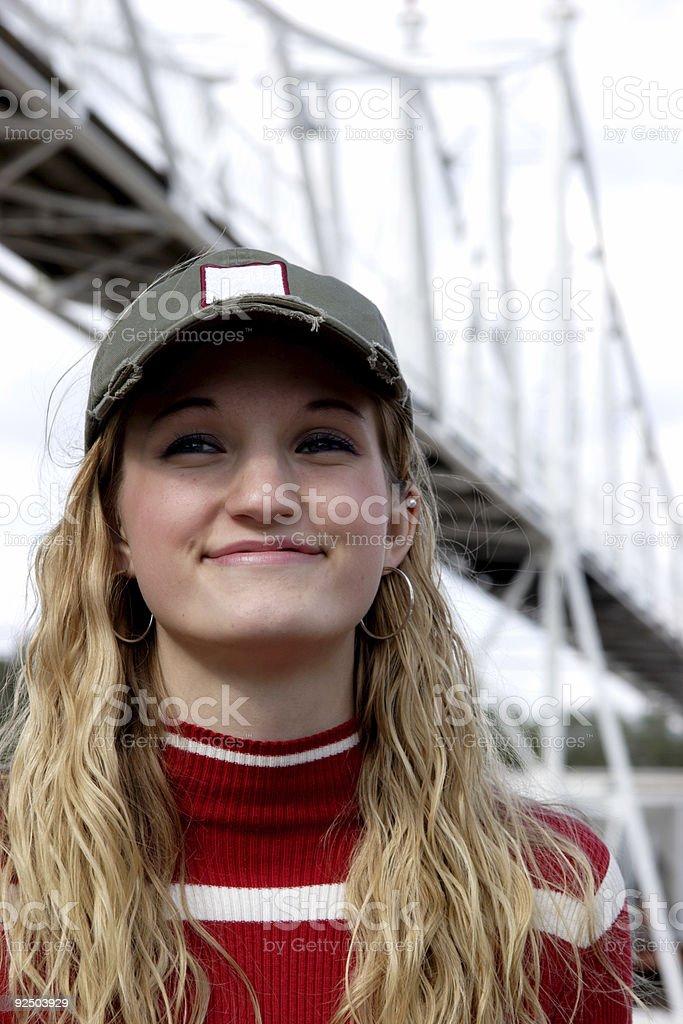 teen girl portraits royalty-free stock photo