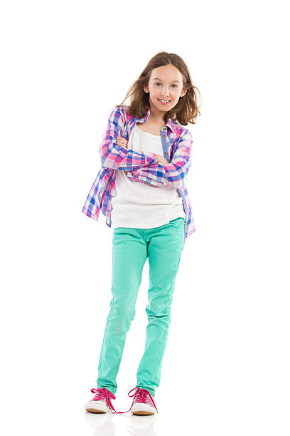 Full pic girl 252 569 Girl Standing Stock Photos Pictures Royalty Free Images Istock