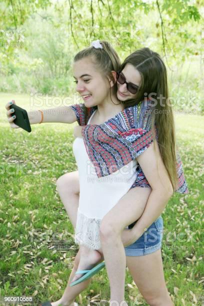 Teen selfies