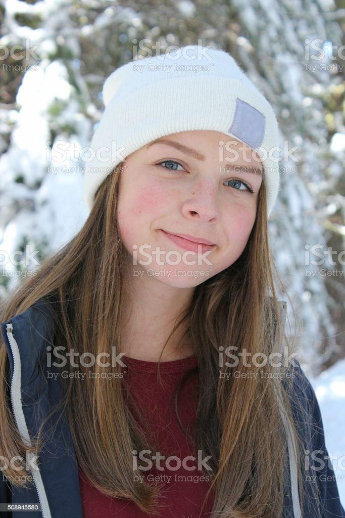 Teen sniw