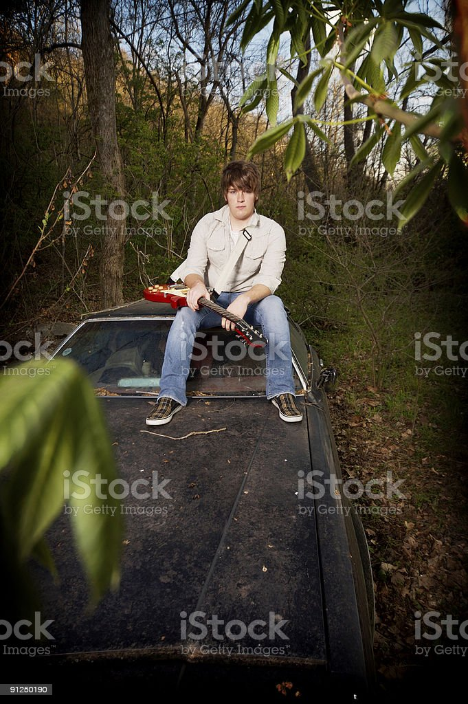 teen male outdoor portraits royalty-free stock photo
