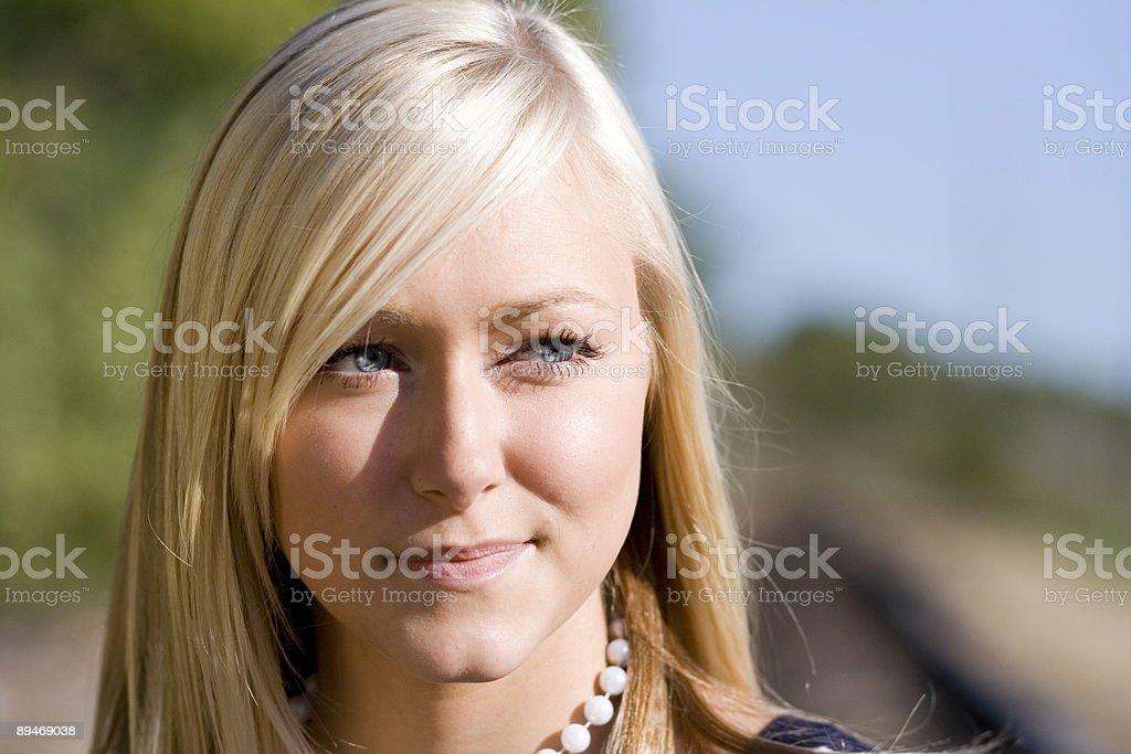 Adolescente modelo foto de stock libre de derechos