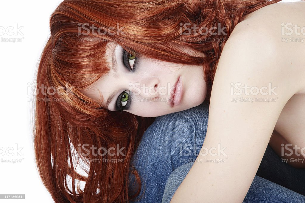 Teen royalty-free stock photo