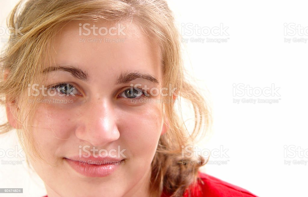 teen portrait - that's the smile royalty-free stock photo