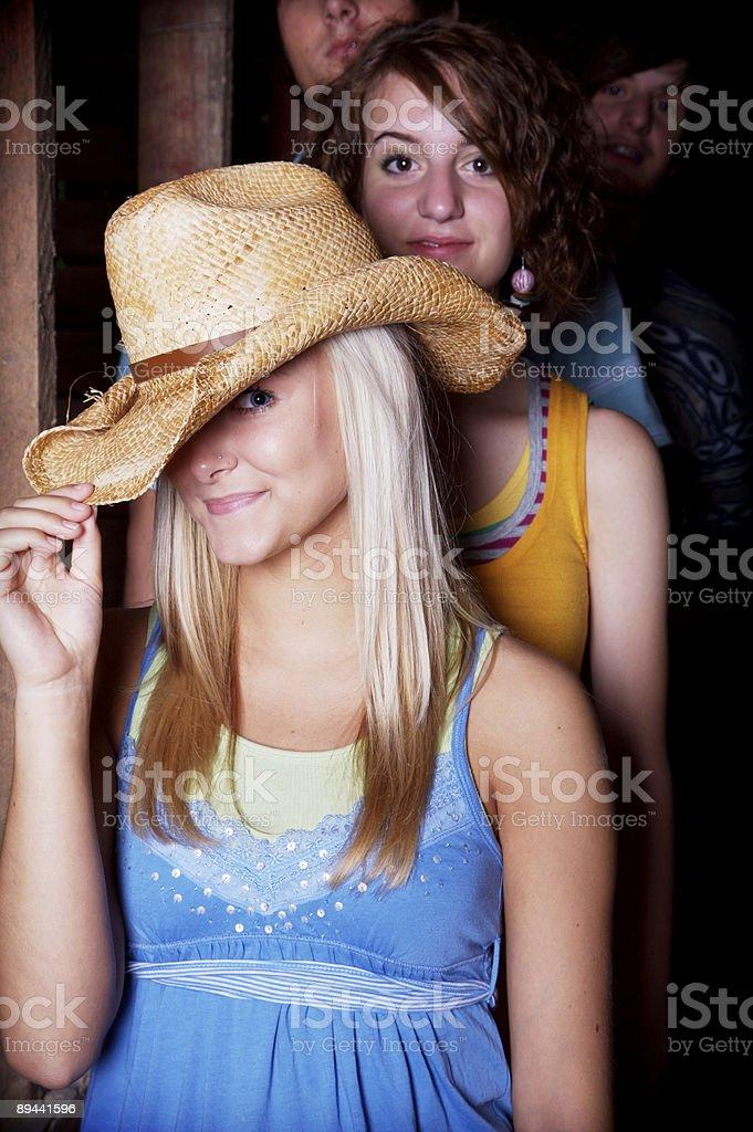 teen rural portraits royalty-free stock photo