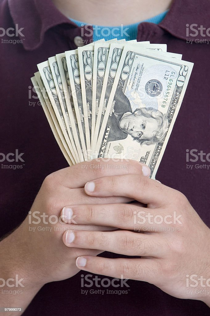 Teen Saver Series royalty-free stock photo