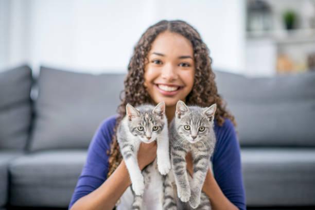 Teen with two kittens picture id919580498?b=1&k=6&m=919580498&s=612x612&w=0&h=mxjjben2zvbrpmhxcp70essq5dytphwqiitloulxa8e=