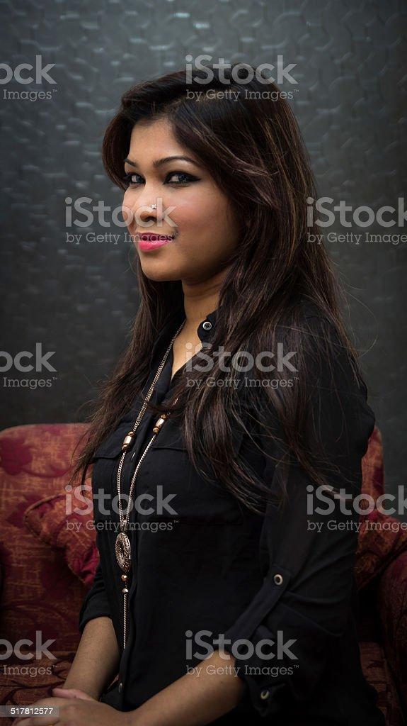 십대 아시아판 여자아이 스톡 사진