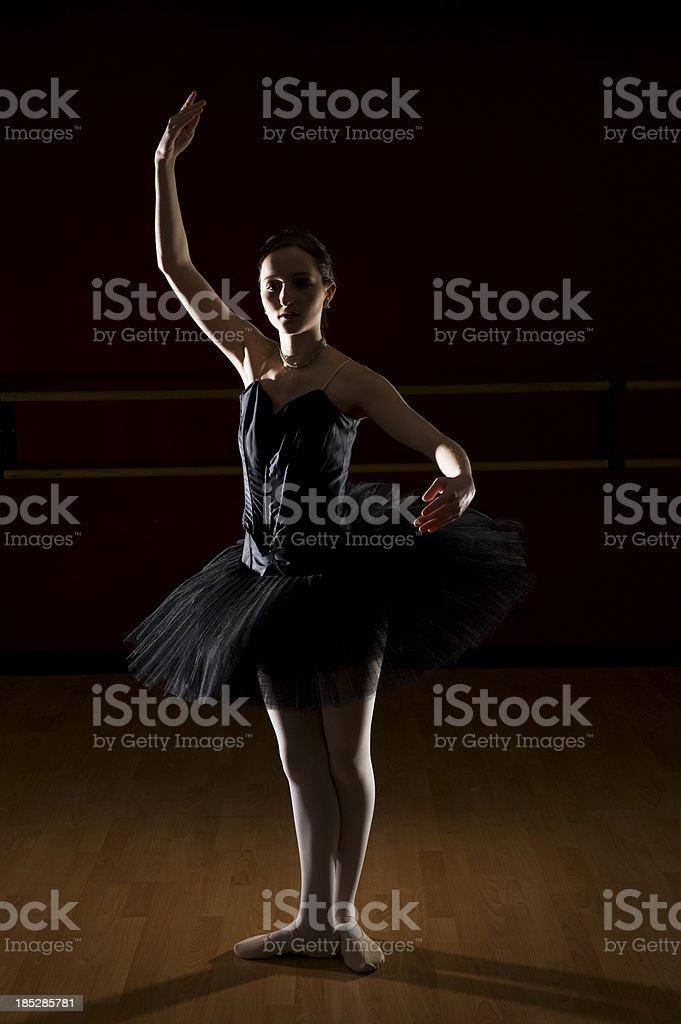 Teenage Ballet Dancer stock photo