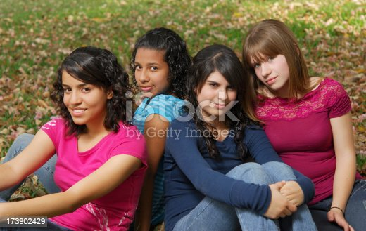 istock Teenage best friends (series XV) 173902429