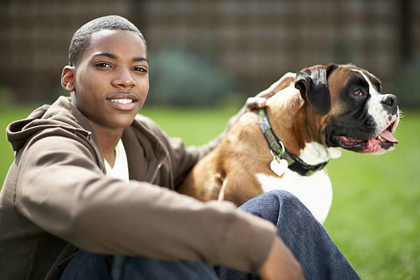 Teenage boy and dog outdoors boy smiling picture id200543452 001?b=1&k=6&m=200543452 001&s=612x612&w=0&h=i r2nssow10hwlqbtge11as8p wjaptsfydn jvtqf4=