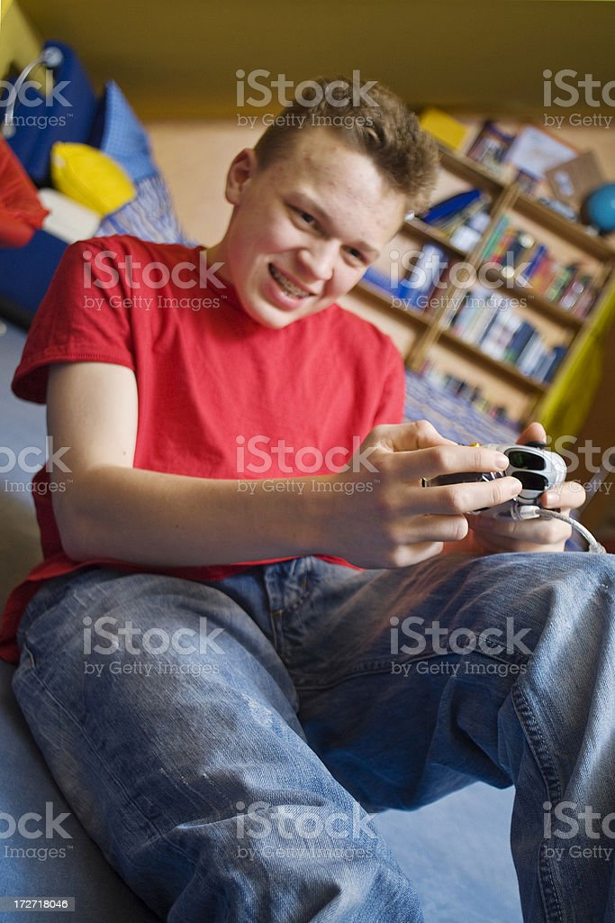 Teenage Boys Series royalty-free stock photo