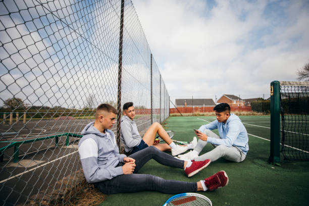 Teenage Boys Gesellige – Foto