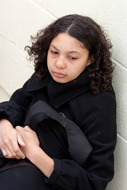 Girl Looking Sad Stock Photo - Download Image Now - iStock