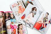 Teenage fashion magazines