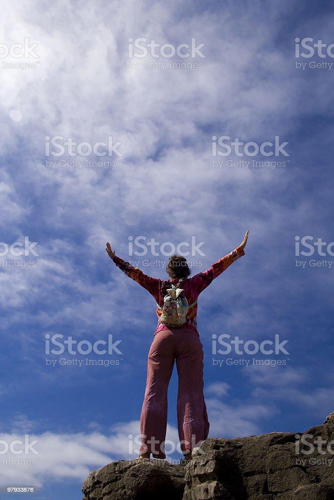 Teenage freedom royalty-free stock photo