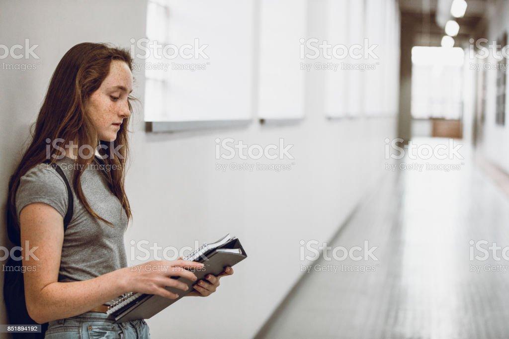 Jeune fille à l'école - Photo