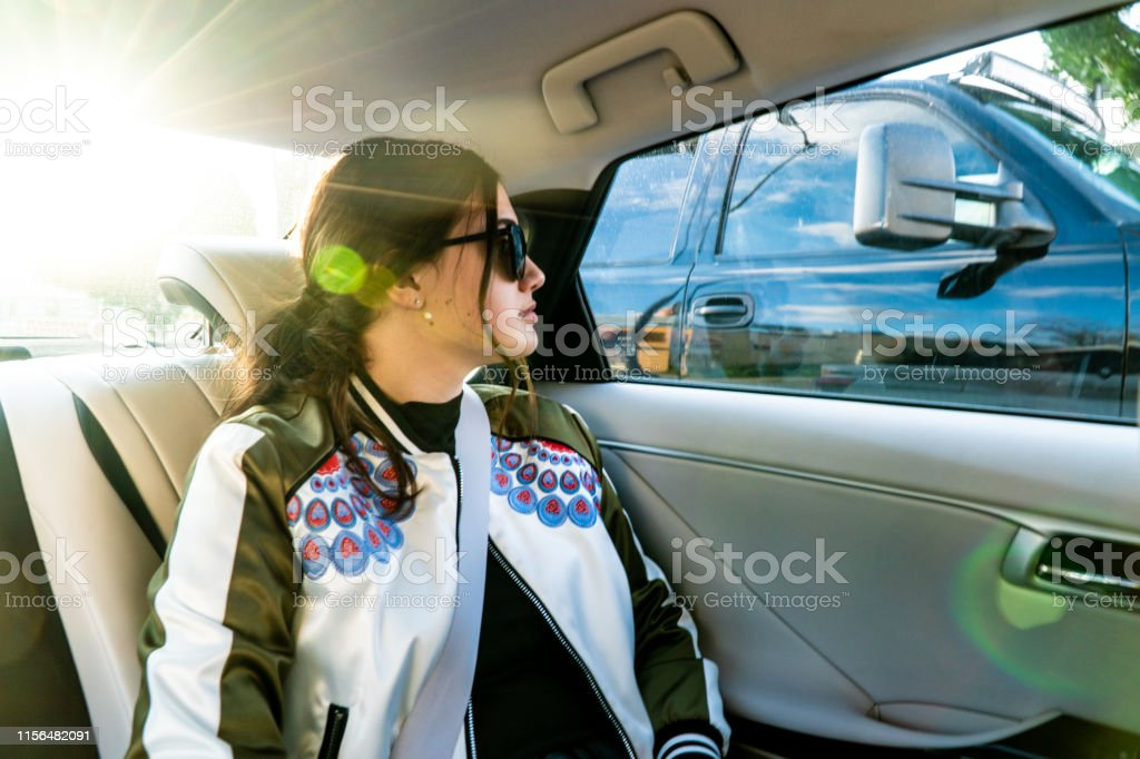 Amazing Teenage Girl Daydreams Out Of The Window From The Back Seat Pabps2019 Chair Design Images Pabps2019Com