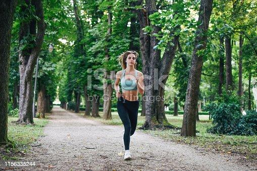 Running, Jogging, Women, Public Park