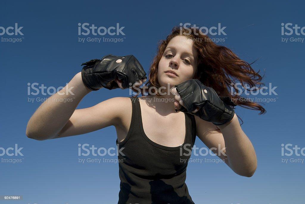 Teenager Mädchen Lizenzfreies stock-foto