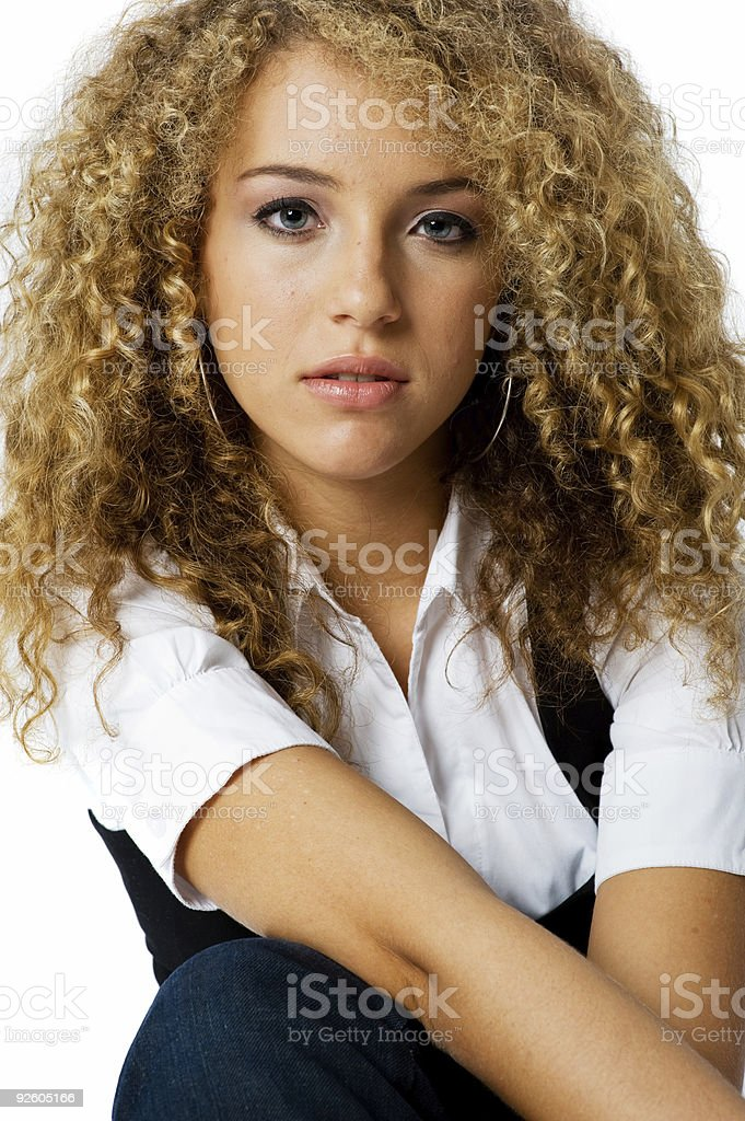 Teenage Girl royalty-free stock photo