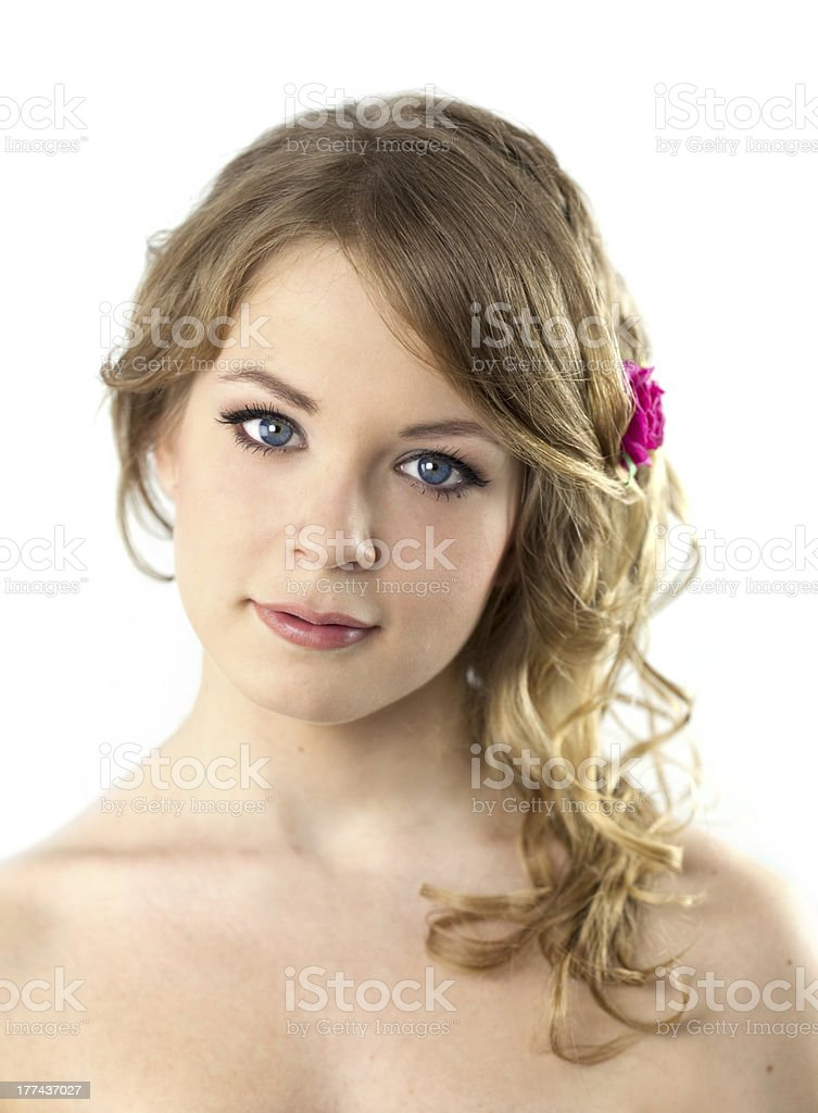 Teenage Girl Portrait / Beautiful Young royalty-free stock photo