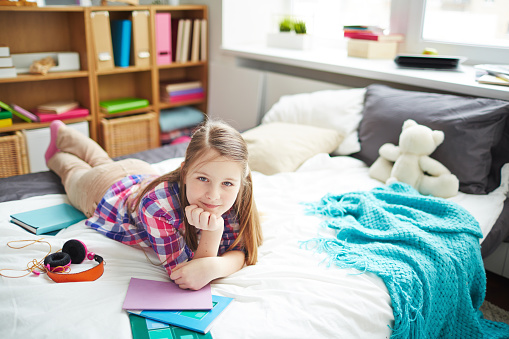 istock Teenage girl resting 656210696