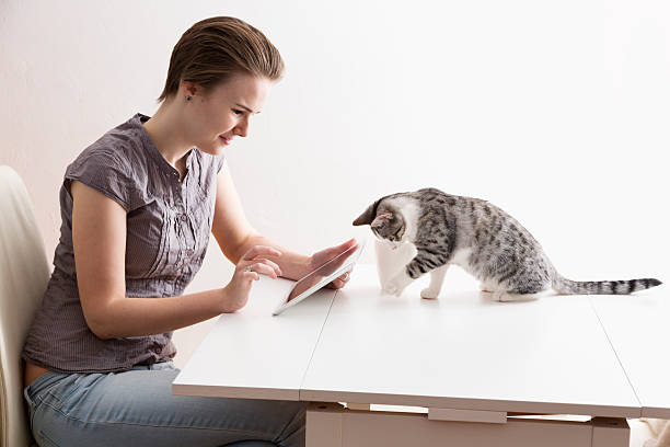 Teenage girl tablet pc and little cat picture id534781329?b=1&k=6&m=534781329&s=612x612&w=0&h=zrtze0quvuit3m2q dryh jtnc8lfr2veuzeb3othbk=