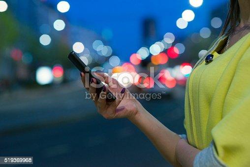 622971132istockphoto Teenage girl texting 519369968