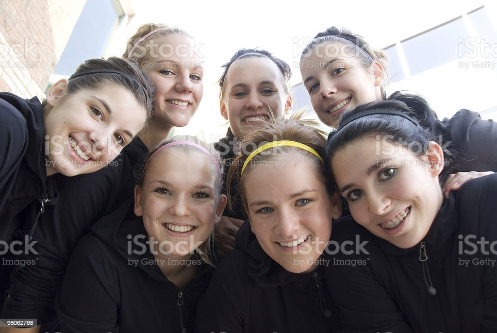 Ragazze adolescenti foto stock royalty-free
