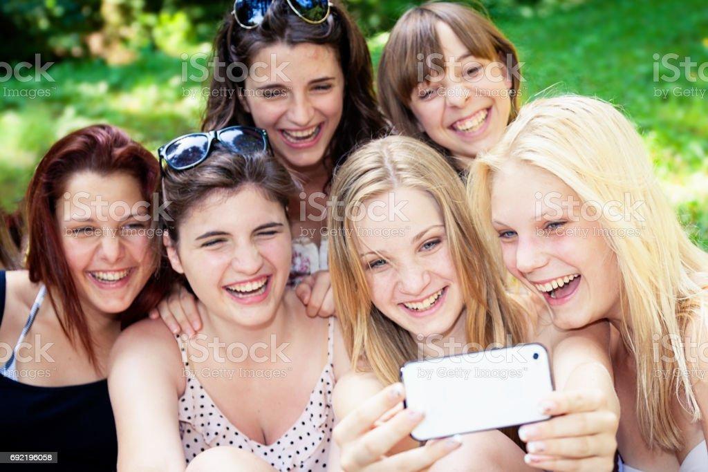 Calibur party teen girl group amateur teen
