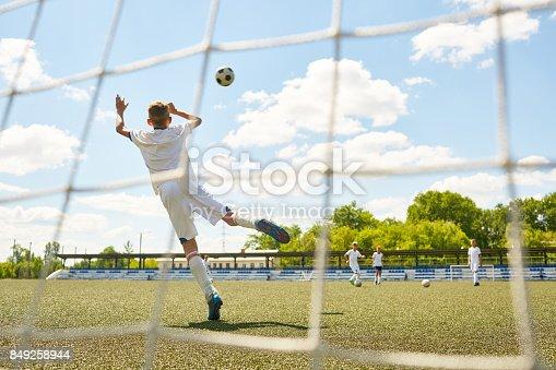 istock Teenage Goalkeeper 849258944